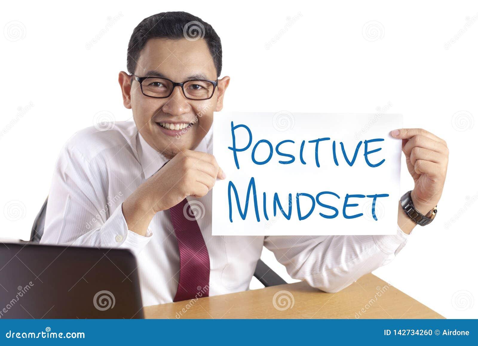 Θετική νοοτροπία, κινητήρια έννοια αποσπασμάτων λέξεων