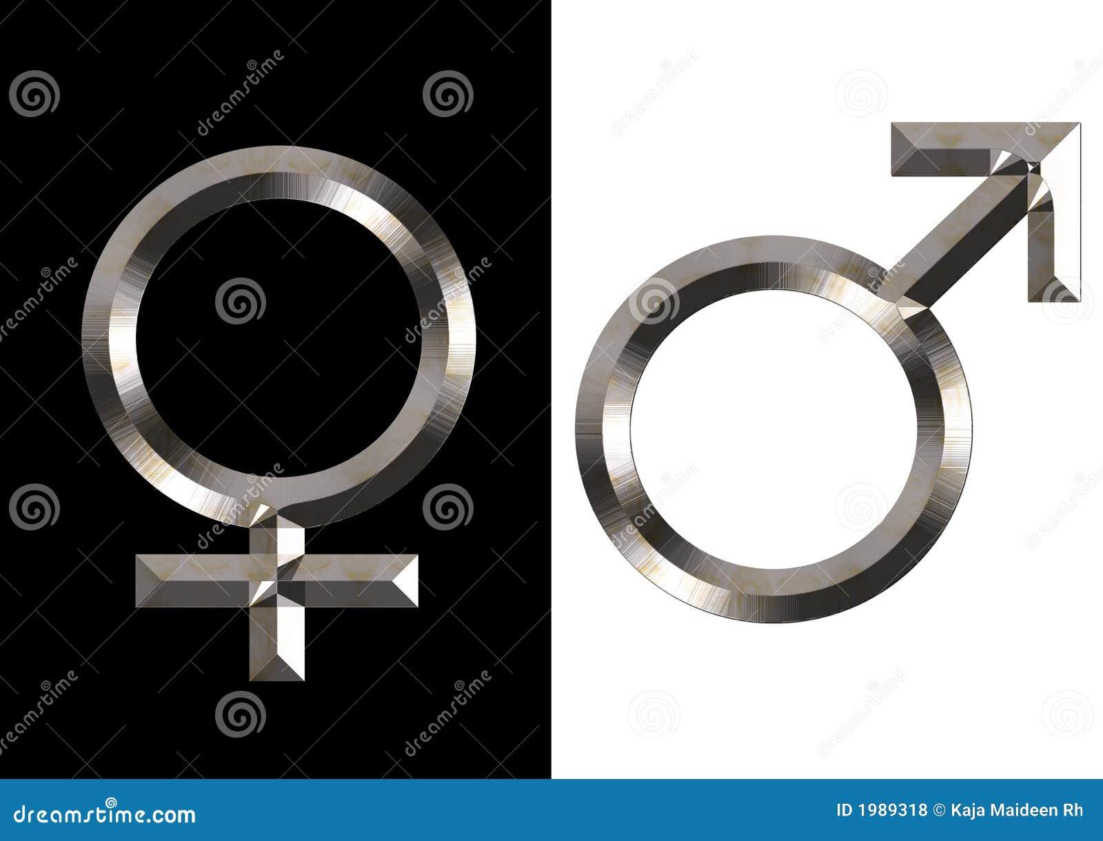 θηλυκά αρσενικά σύμβολα