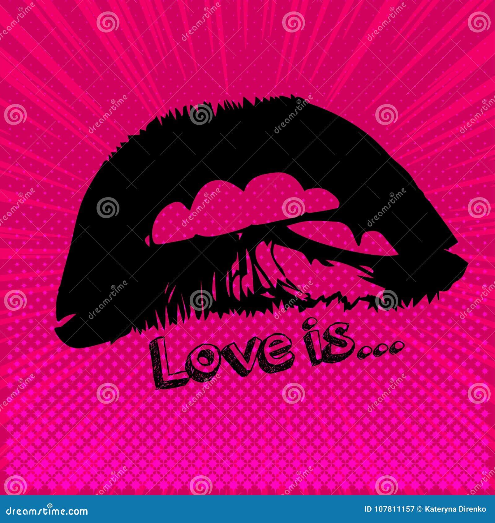 θηλυκά μέρη χειλικής αγάπης σωμάτων εικονίδιο, σημάδι, σύμβολο, μπάλωμα, αυτοκόλλητη ετικέττα Υγιή δόντια, συμπαθητικά χείλια, μι