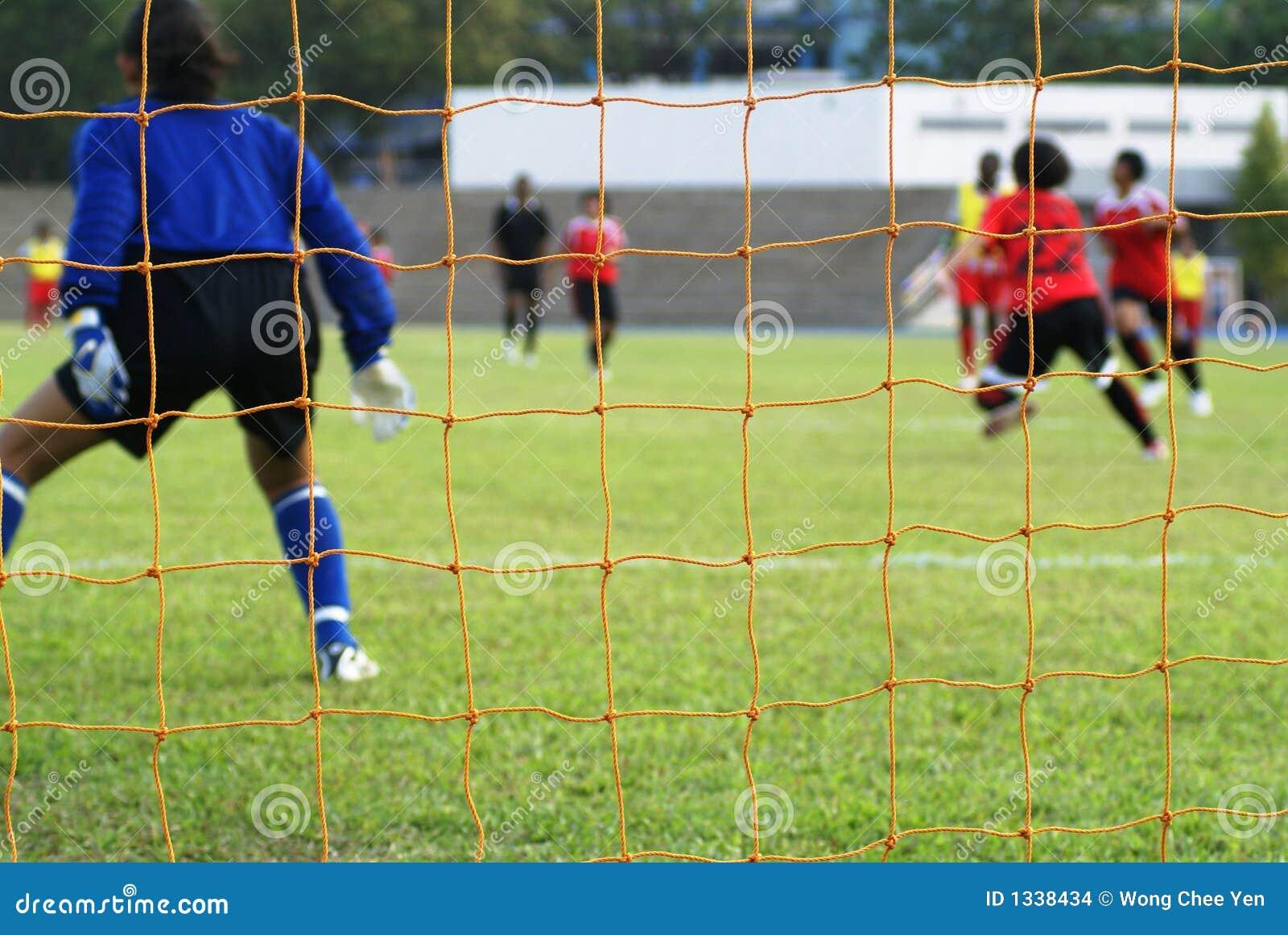 θηλυκός αγώνας ποδοσφαί