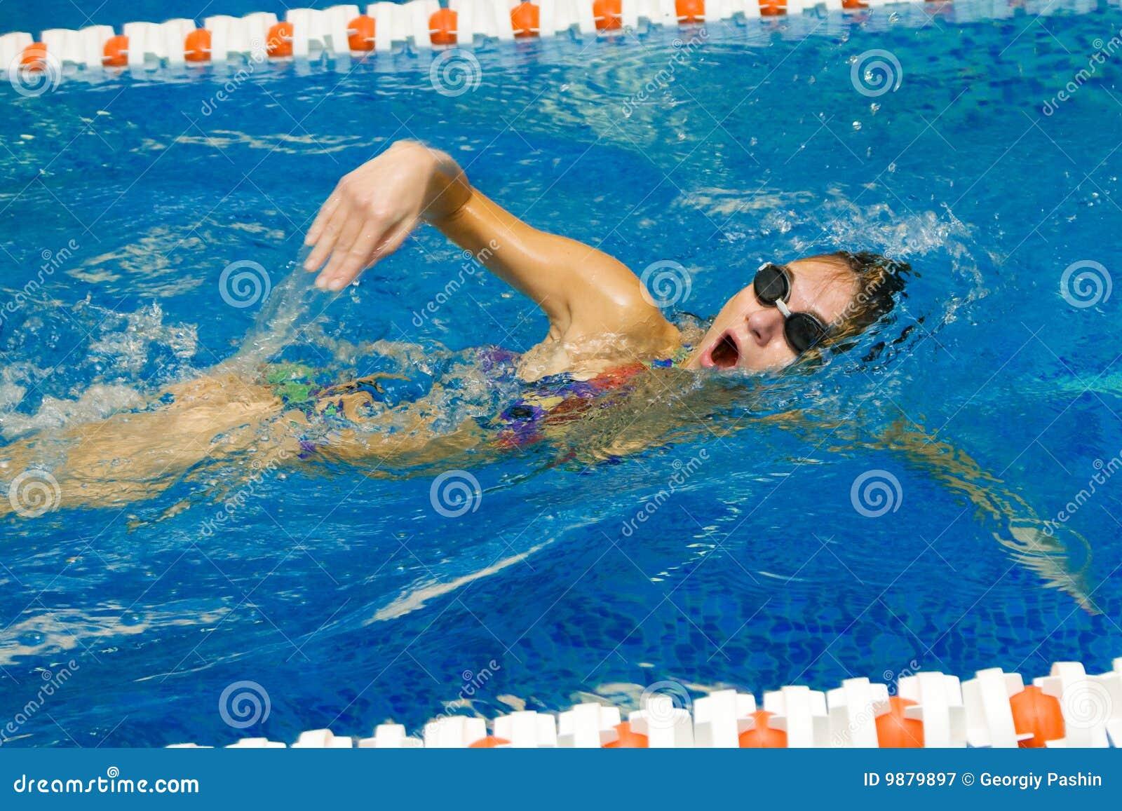 θηλυκός κολυμβητής