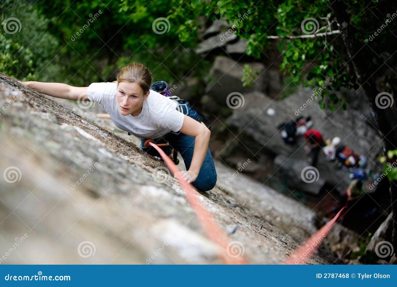 θηλυκό ορειβατών