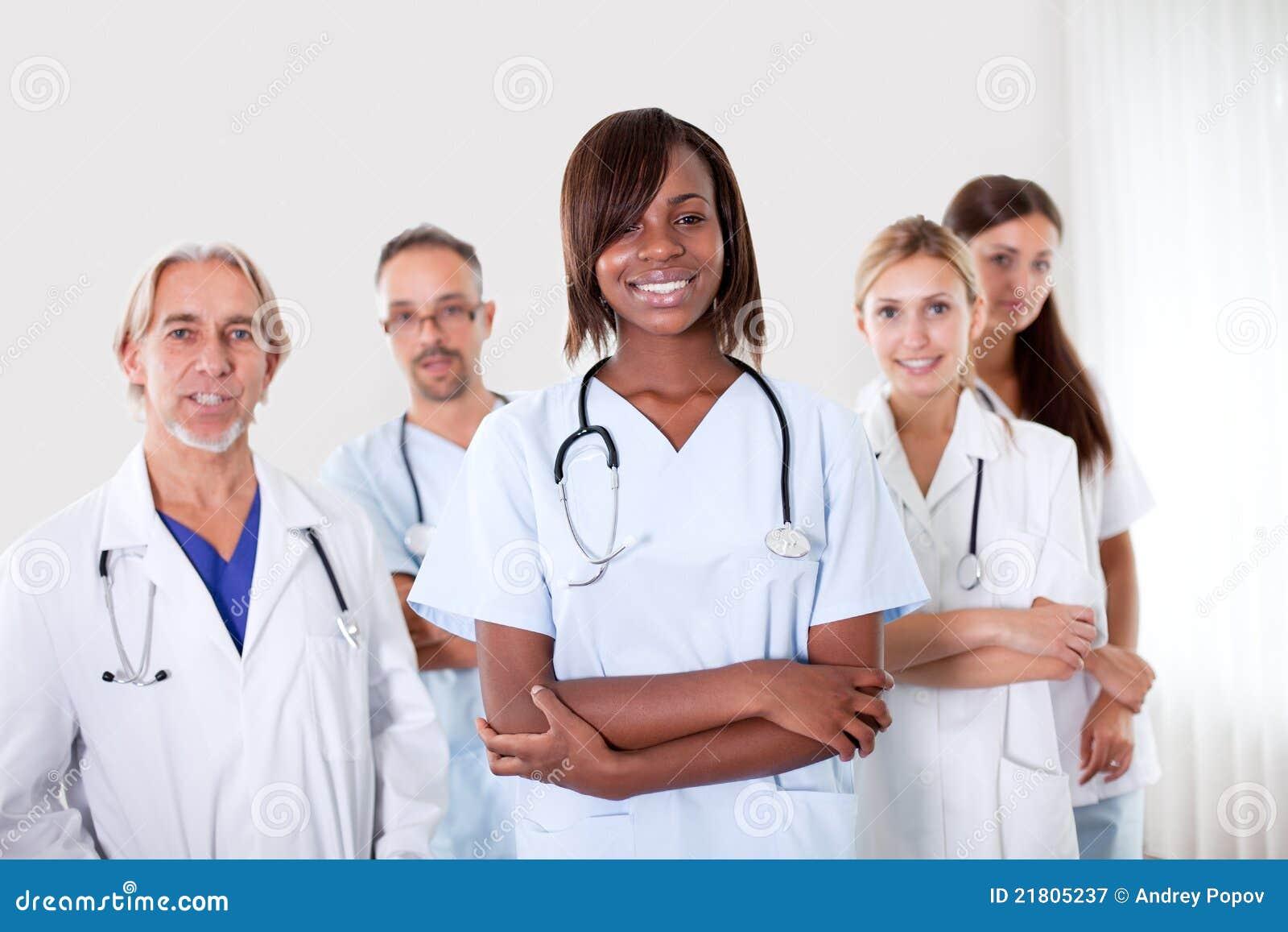 θηλυκό πορτρέτο γιατρών αρ