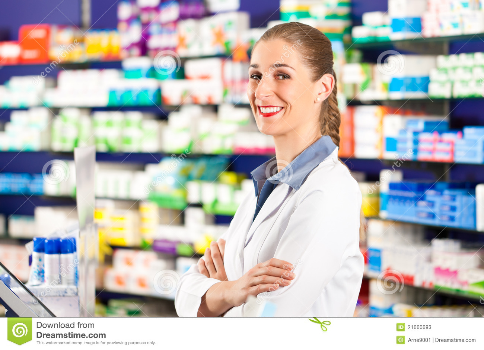 θηλυκό το φαρμακείο φαρμ&