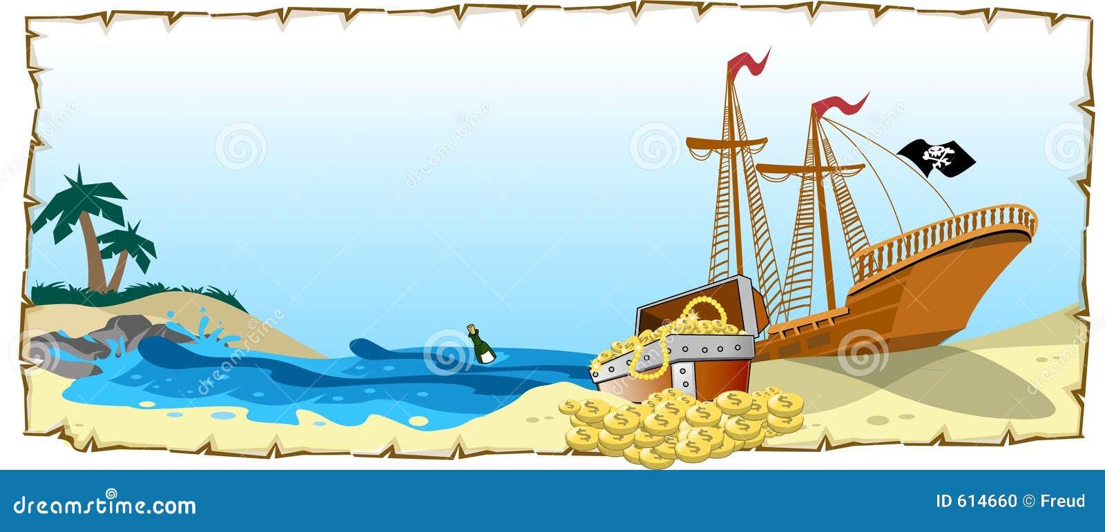 θησαυρός πειρατών