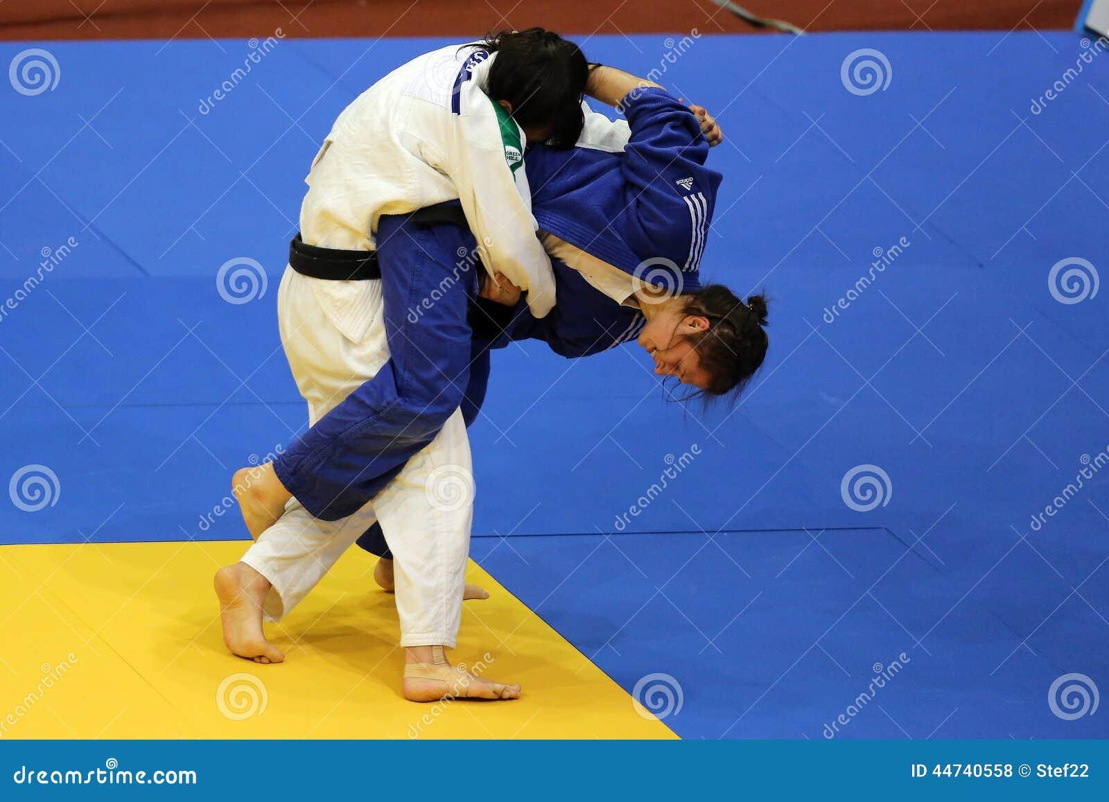Θηλυκοί μαχητές τζούντου