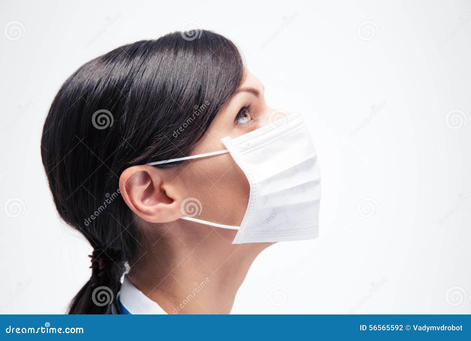 Download Θηλυκός ιατρός στη μάσκα που ανατρέχει Στοκ Εικόνες - εικόνα από σύγχρονος, ειδικός: 56565592