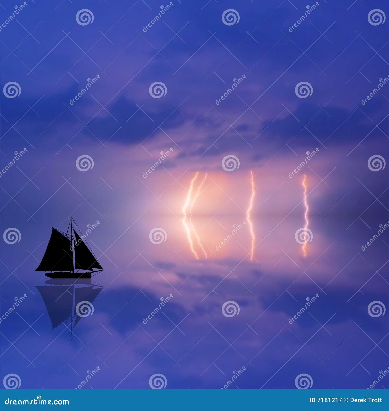 θύελλα απεικόνισης βαρκών