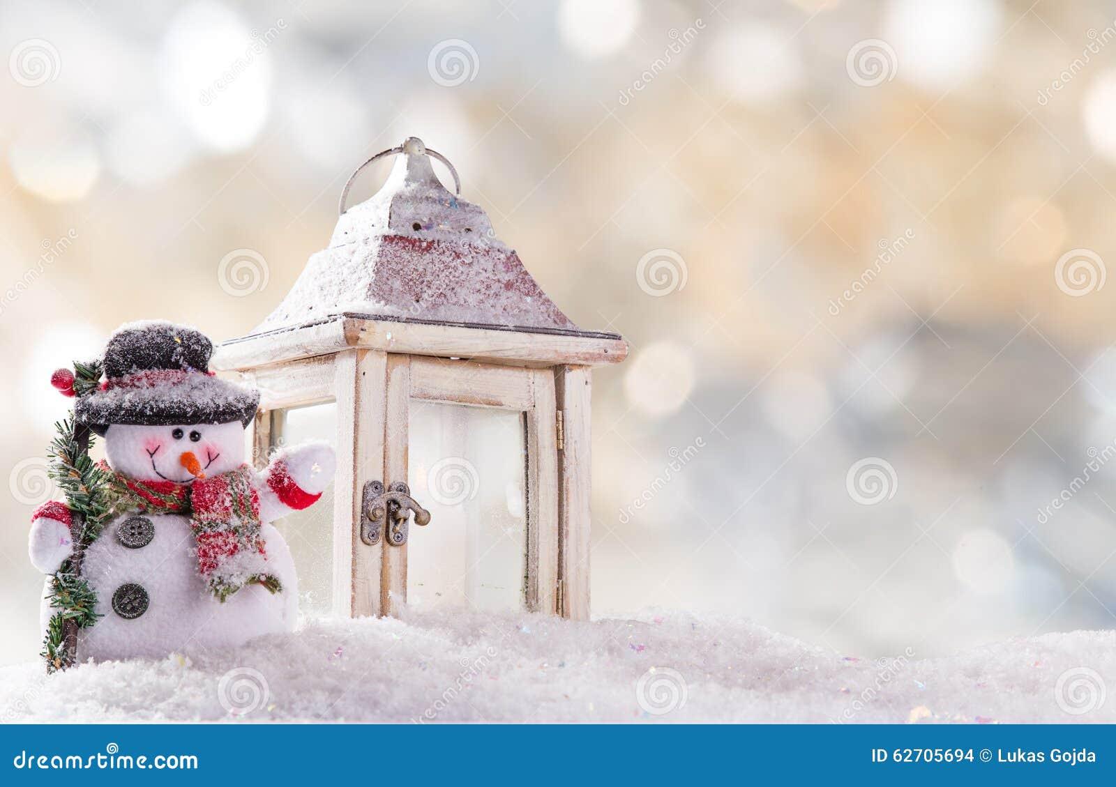 διάνυσμα χιονανθρώπων απεικόνισης Χριστουγέννων ανασκόπησης