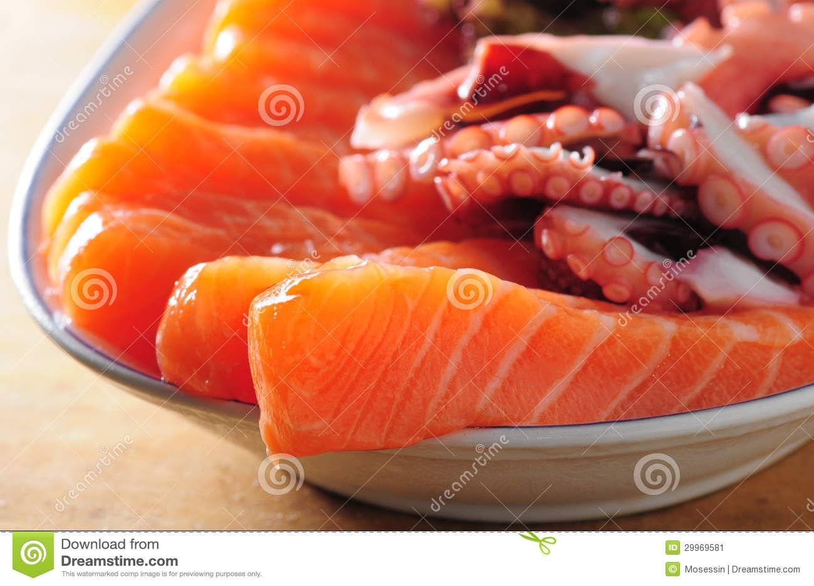 Sashimi σολομός