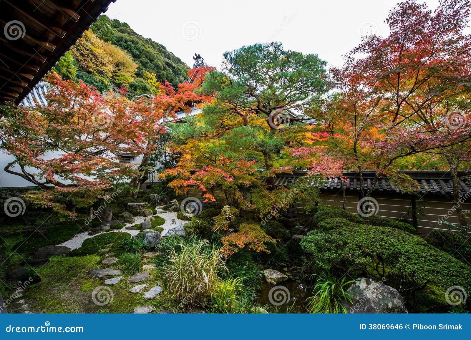 Ιαπωνικός κήπος.