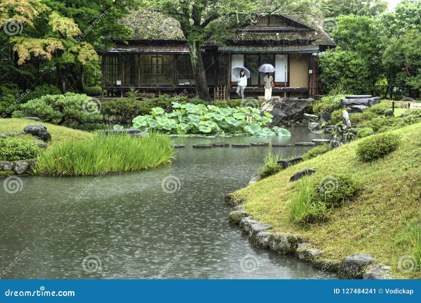 Ιαπωνικός κήπος Isuien στο Νάρα