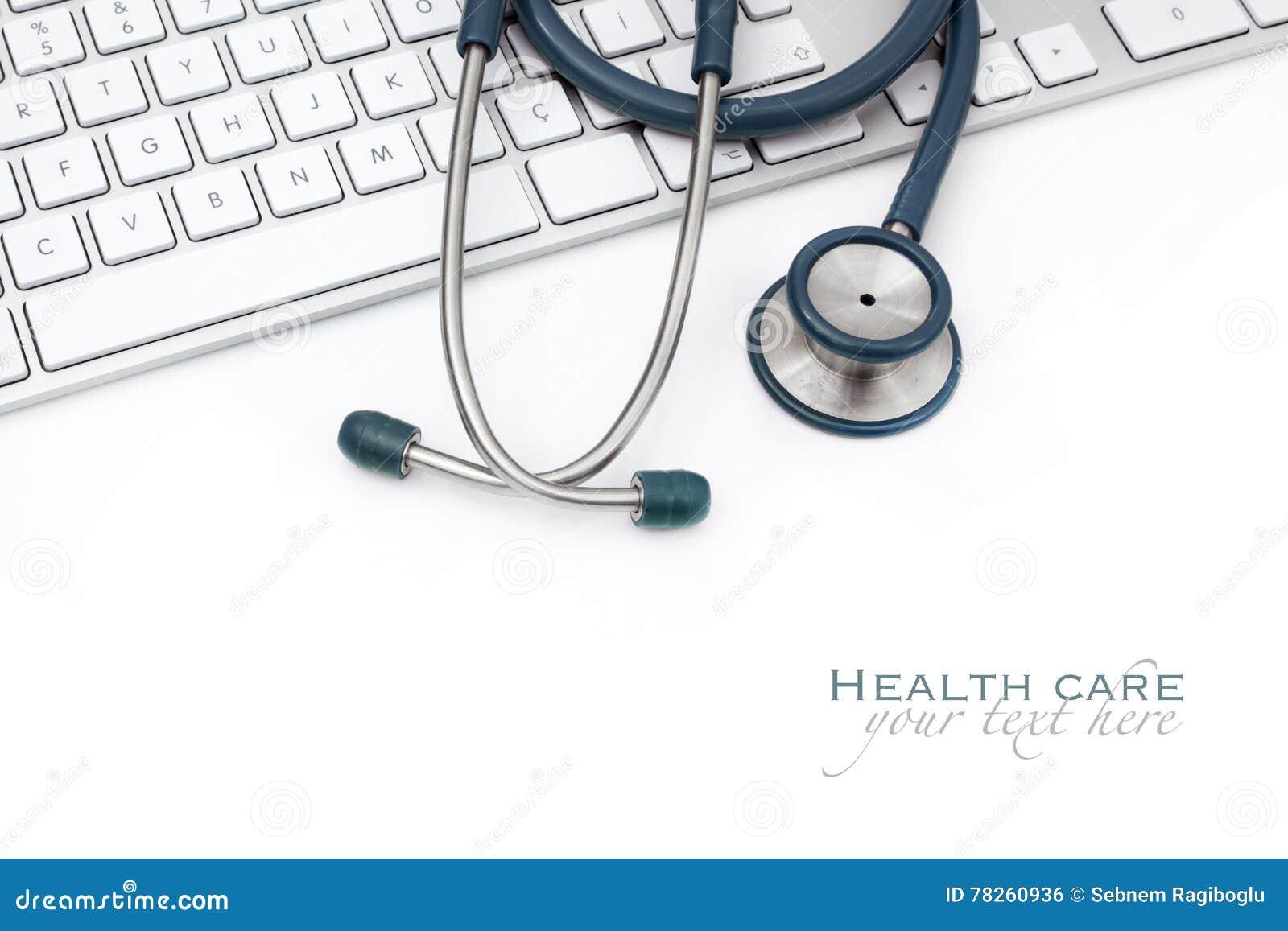 Ιατρική έννοια στο άσπρο υπόβαθρο
