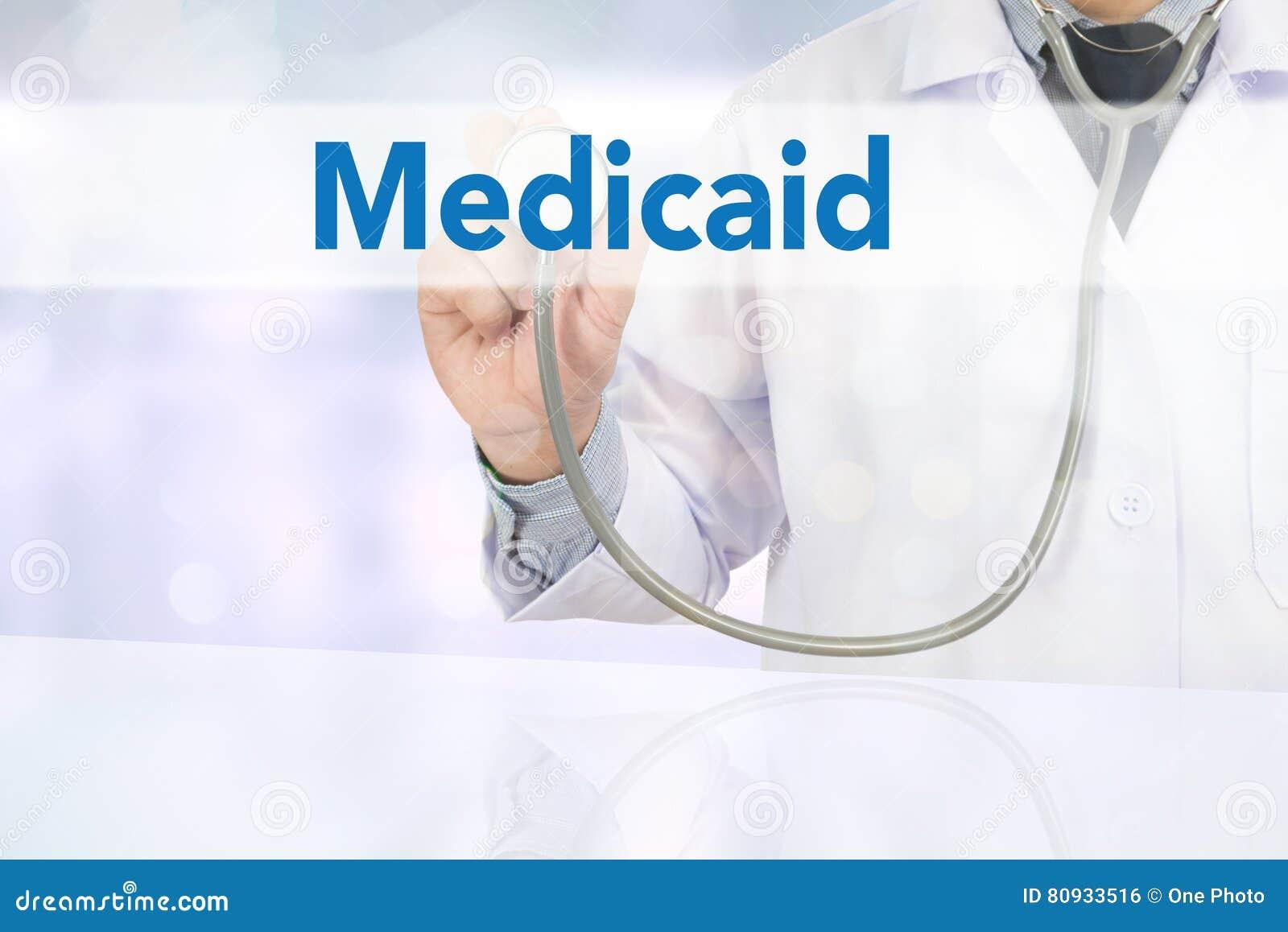Ιατρική ασφάλεια και Medicaid και στηθοσκόπιο