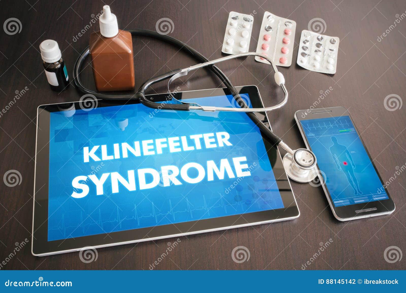 Ιατρικό conce διαγνώσεων συνδρόμου Klinefelter (ενδοκρινής ασθένεια)