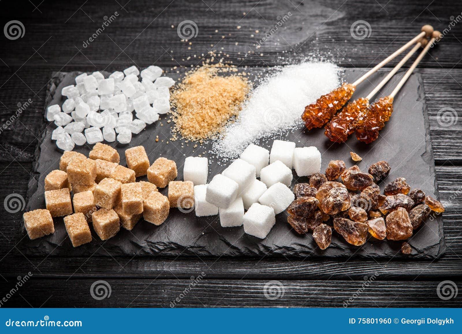 διαφορετικοί τύποι ζάχαρ&et