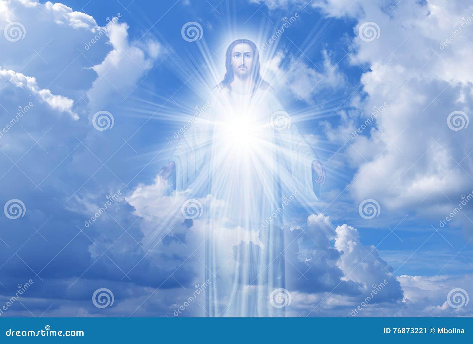 Ιησούς Χριστός στην έννοια θρησκείας ουρανού
