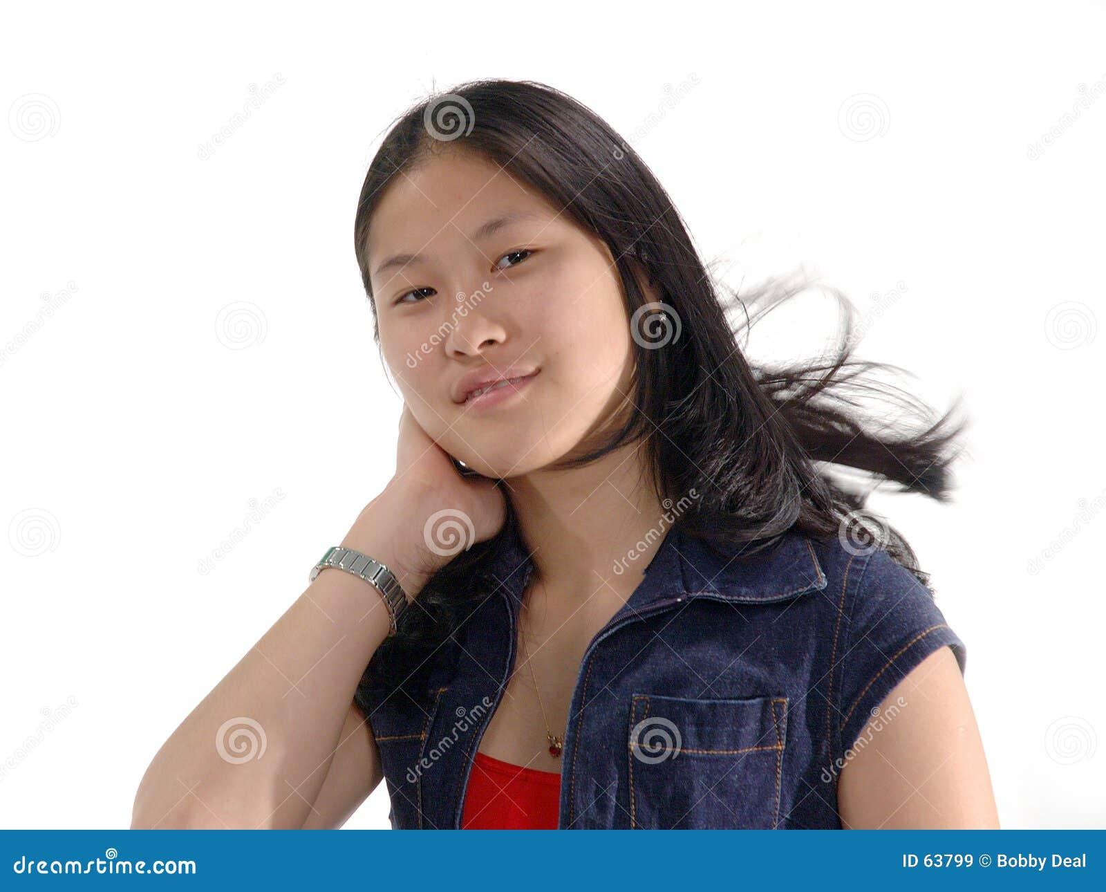 Download ικανοποιημένο κορίτσι ε&kap Στοκ Εικόνα - εικόνα από εύθυμος, άνθρωποι: 63799