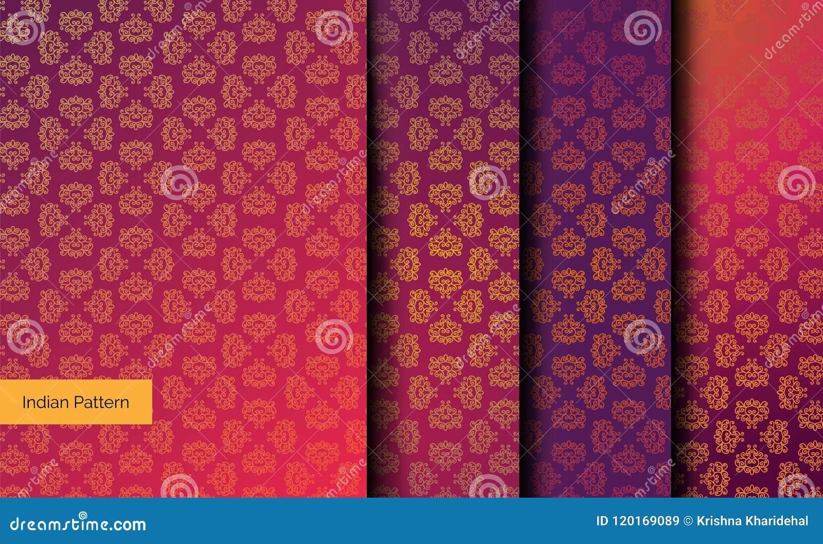 ινδικά πρότυπα άνευ ραφής