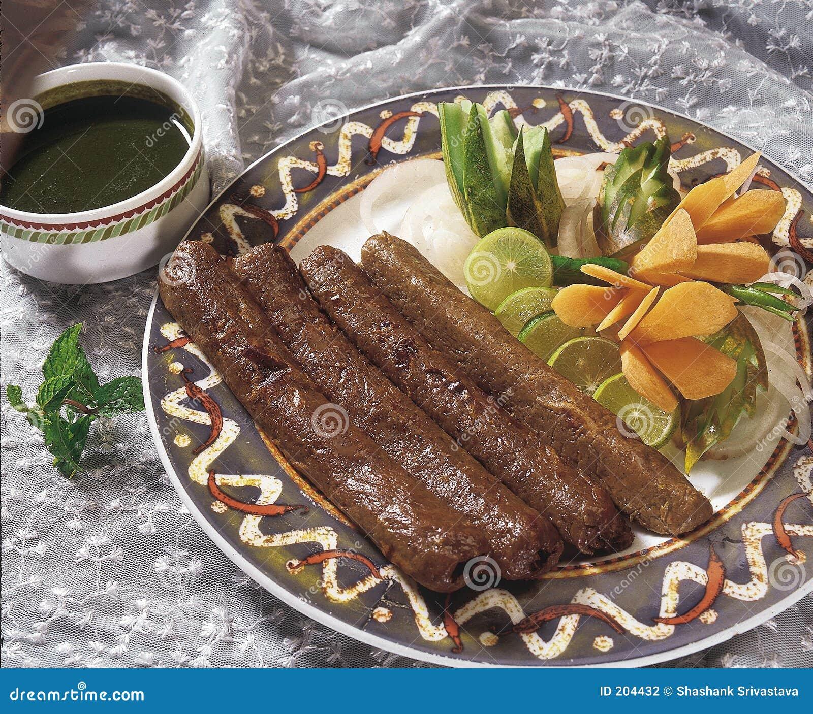 ινδικά kebabs κουζίνας seekh