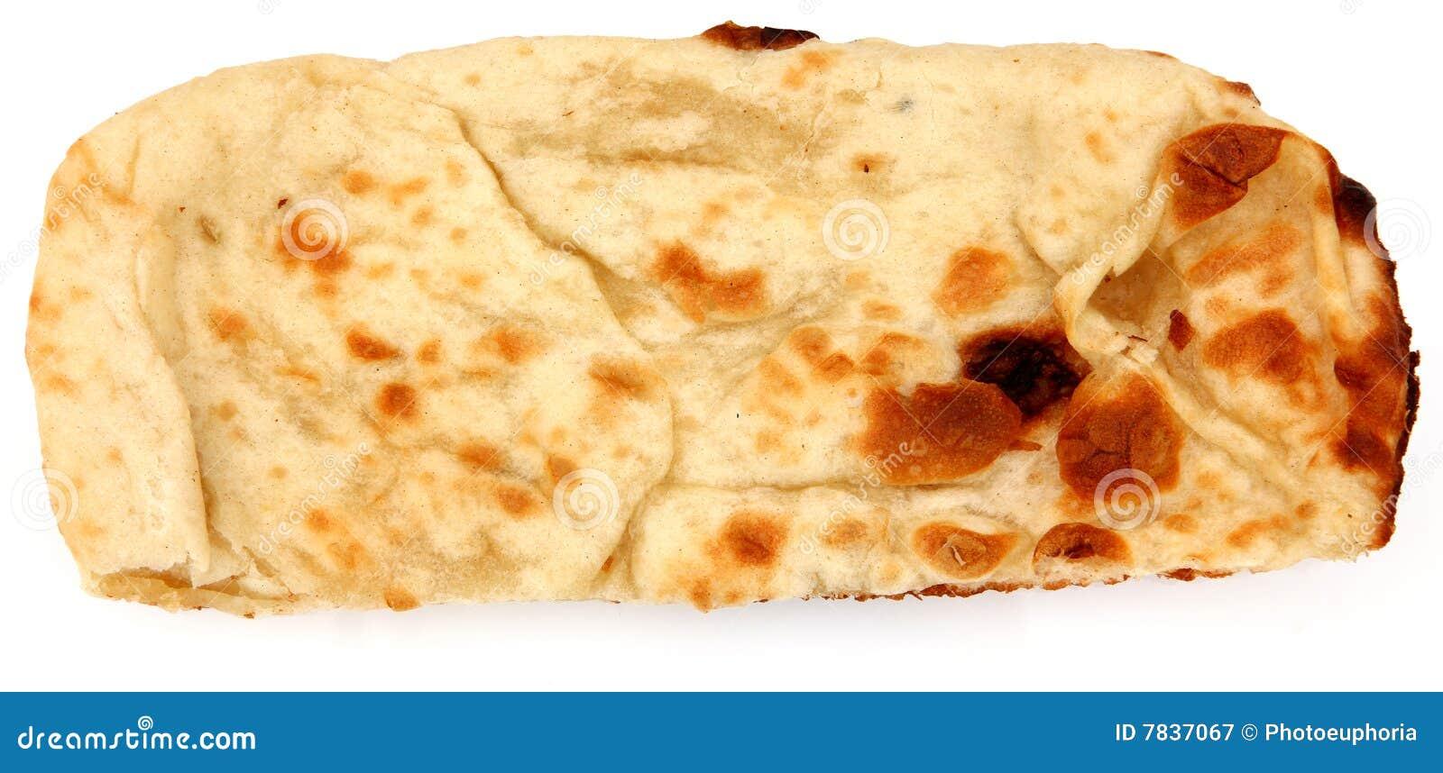 ινδικός naan ψωμιού