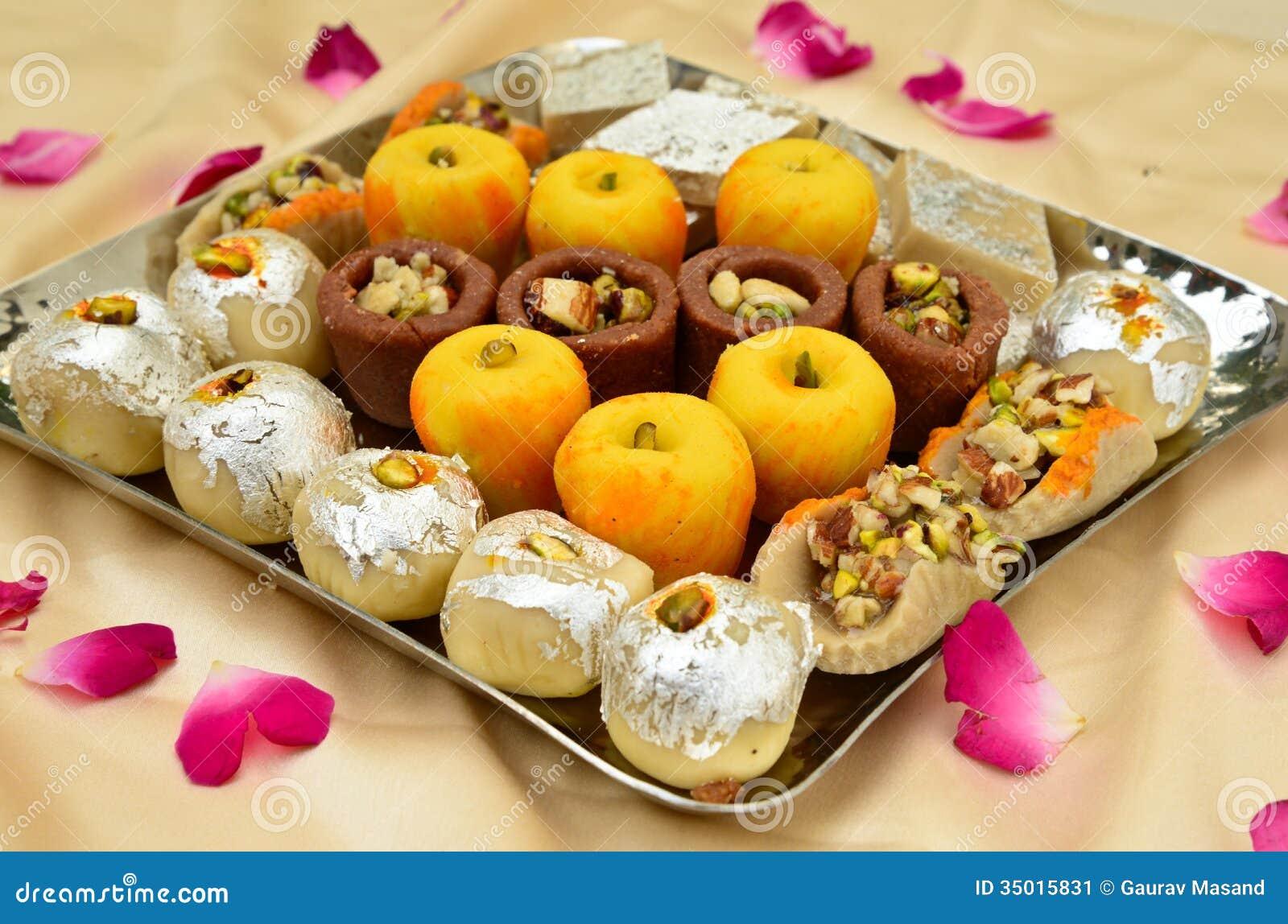 Ινδικά γλυκά - Mithai