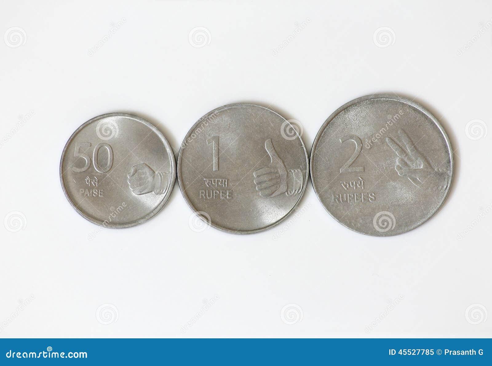 Ινδική ρουπία νομισμάτων