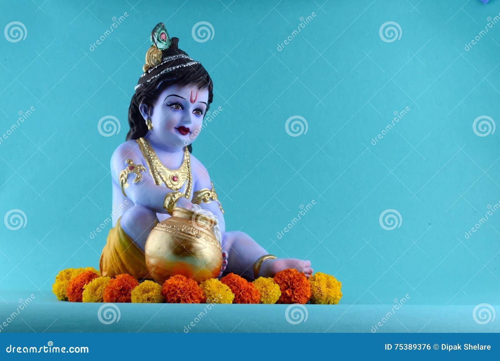 ινδό krishna Θεών