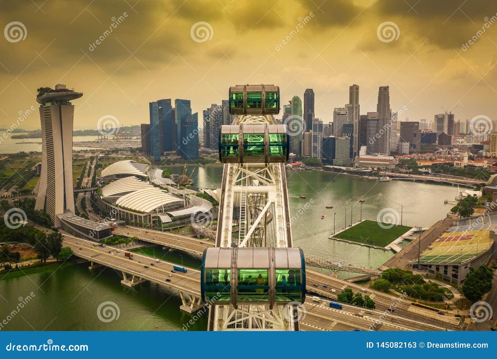 Ιπτάμενο της Σιγκαπούρης άνωθεν