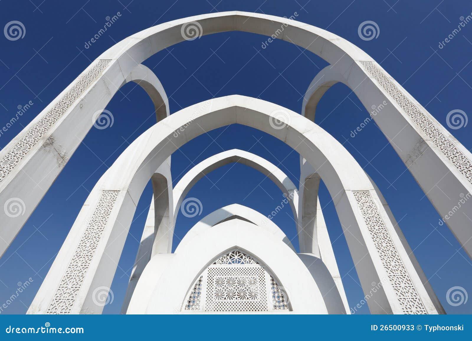 Ισλαμικό μνημείο σε Doha, Κατάρ