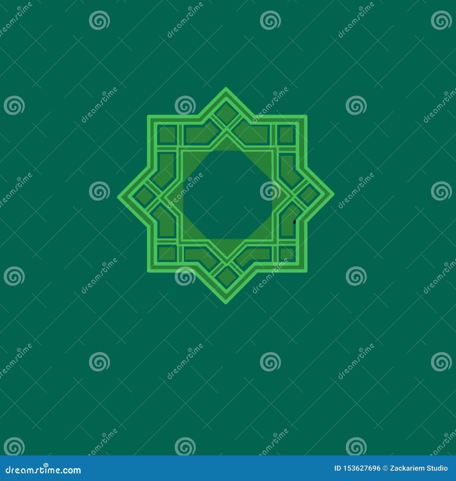 Ισλαμικό geomatric σχέδιο μοτίβου