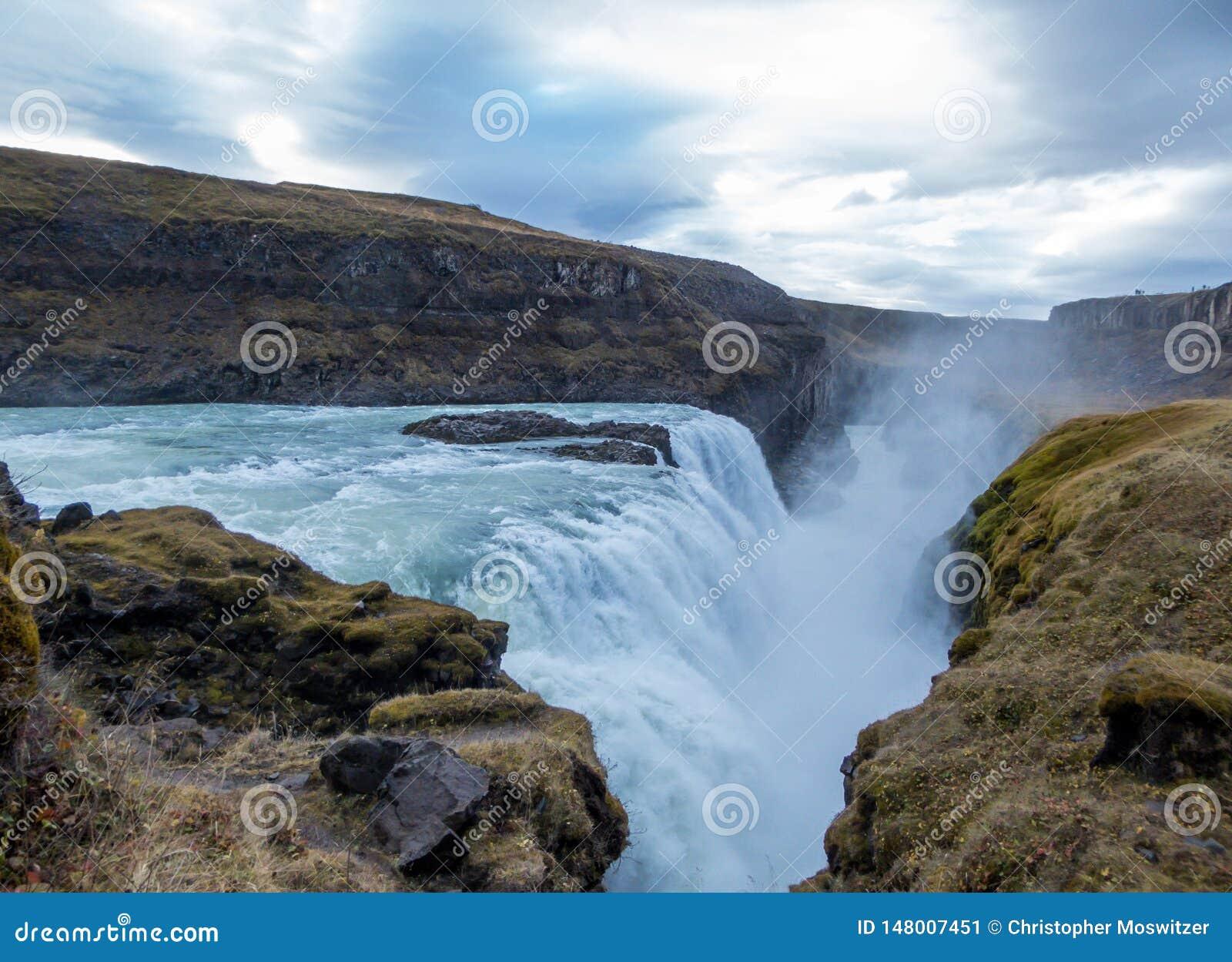 Ισλανδία - δυνατό Gulfoss