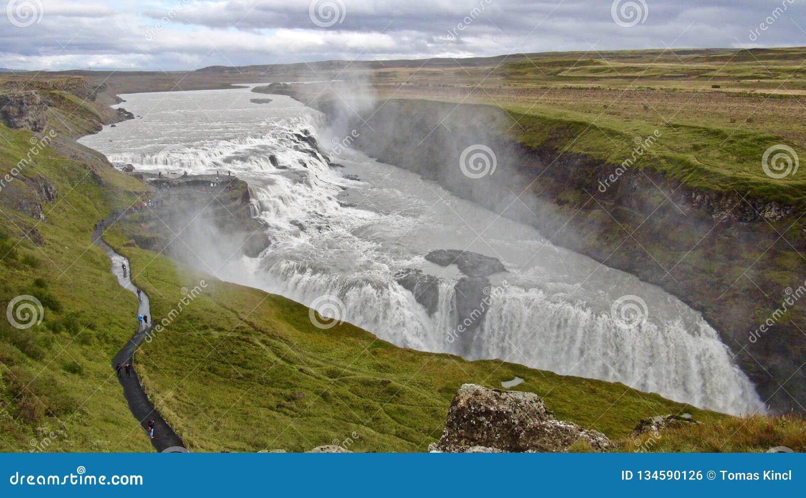 Ισλανδία, χρυσός κύκλος και Gullfoss