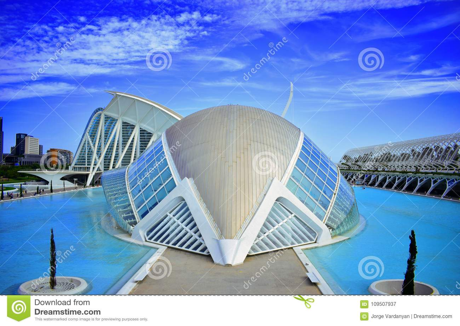 Ισπανία, η νέα Βαλένθια, Σαντιάγο Calatrava, πόλη των επιστημών και των τεχνών, hemisferic, τέχνη, νέα αρχιτεκτονική
