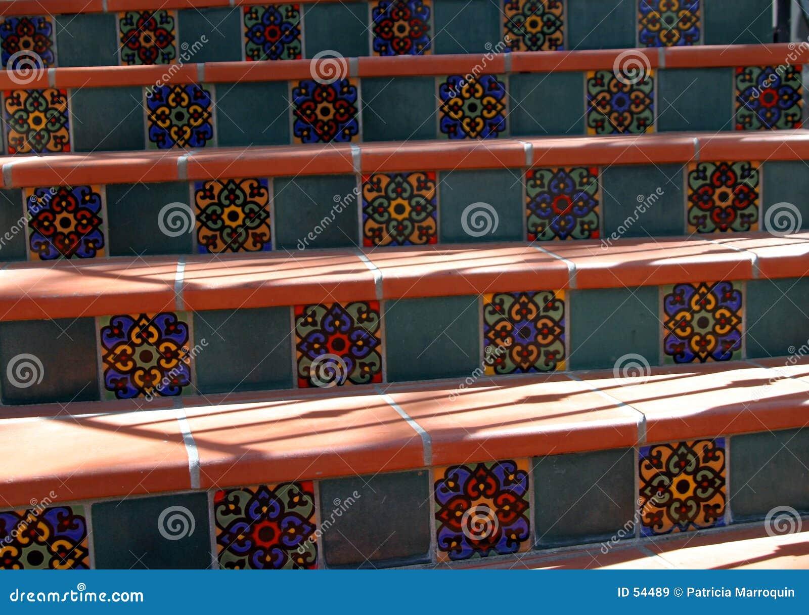 Download ισπανικά βήματα στοκ εικόνα. εικόνα από αρχιτεκτονικής, υλικό - 54489