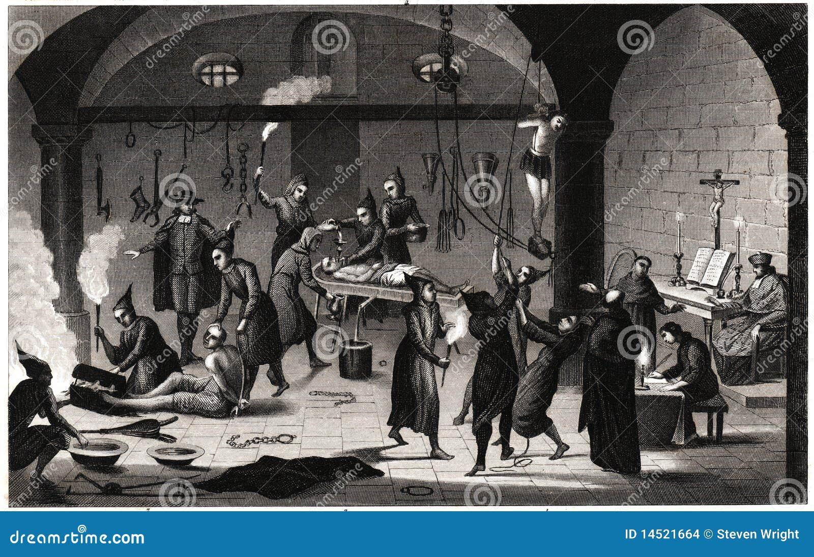 ισπανικά βασανιστήρια inquistion