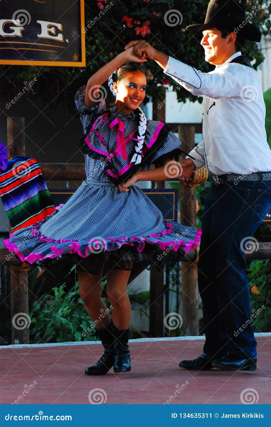 Ισπανική χορεύοντας επίδειξη