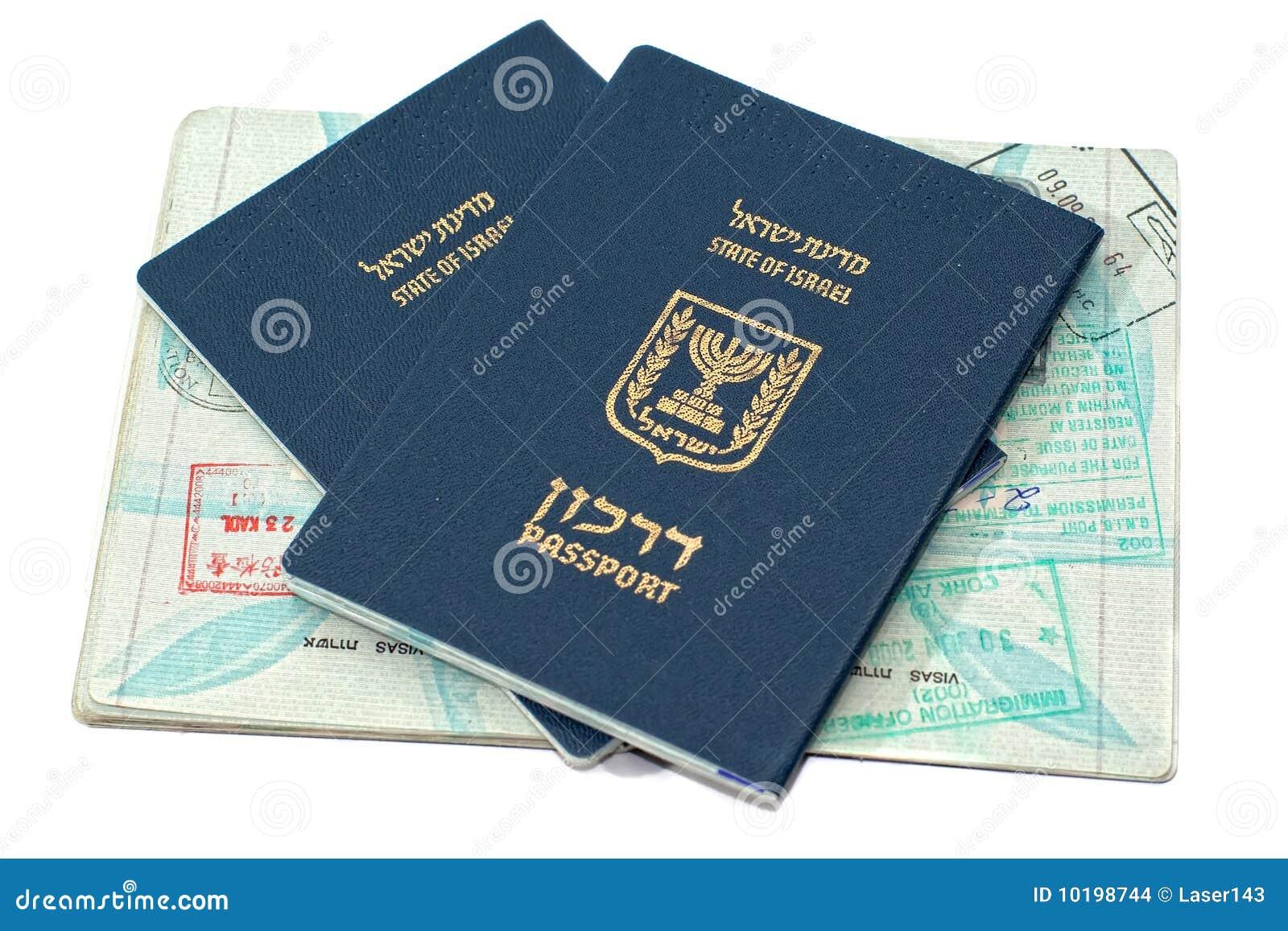 ισραηλινά διαβατήρια