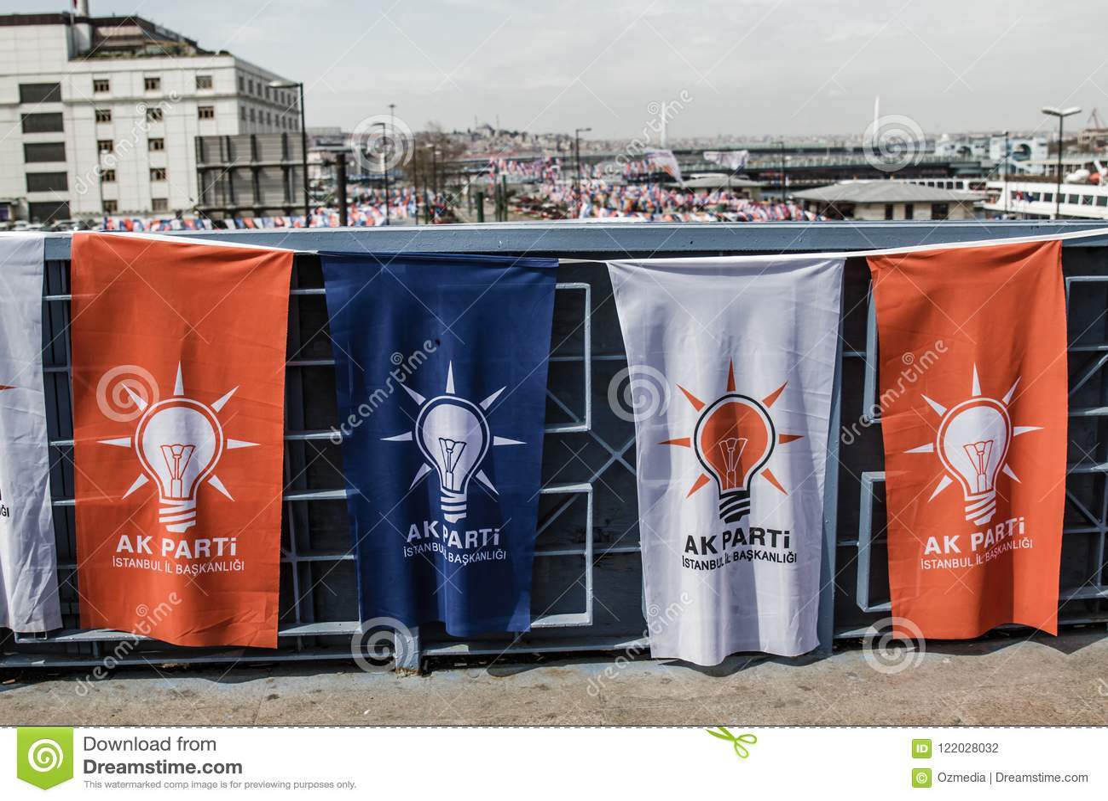 ΙΣΤΑΝΜΠΟΎΛ, ΤΟΥΡΚΙΑ - 27 ΜΑΡΤΊΟΥ 2014: Εκλογή Bann τοπικών αρχών