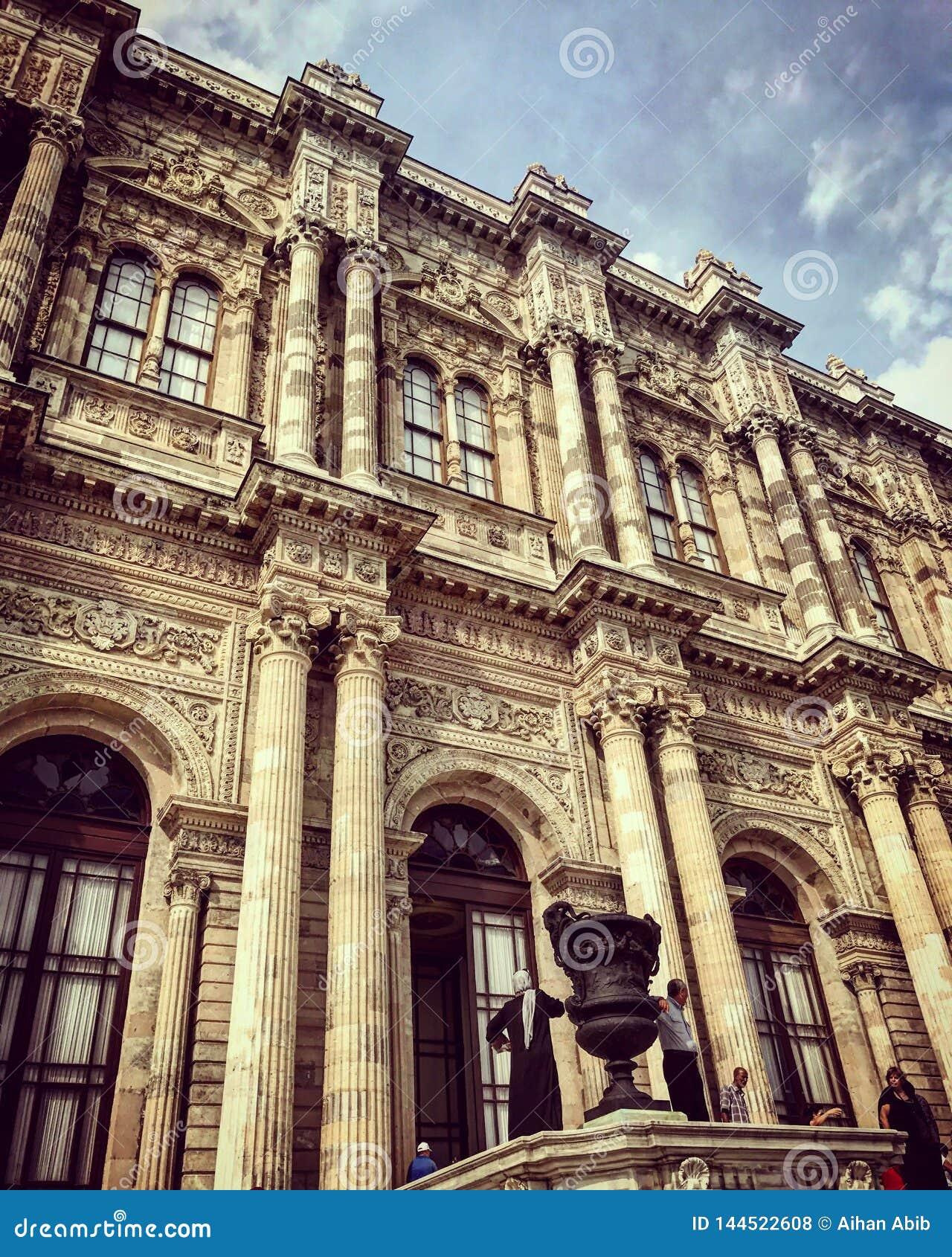 Ιστορία λεπτομερειών sarayi Dolmabahce