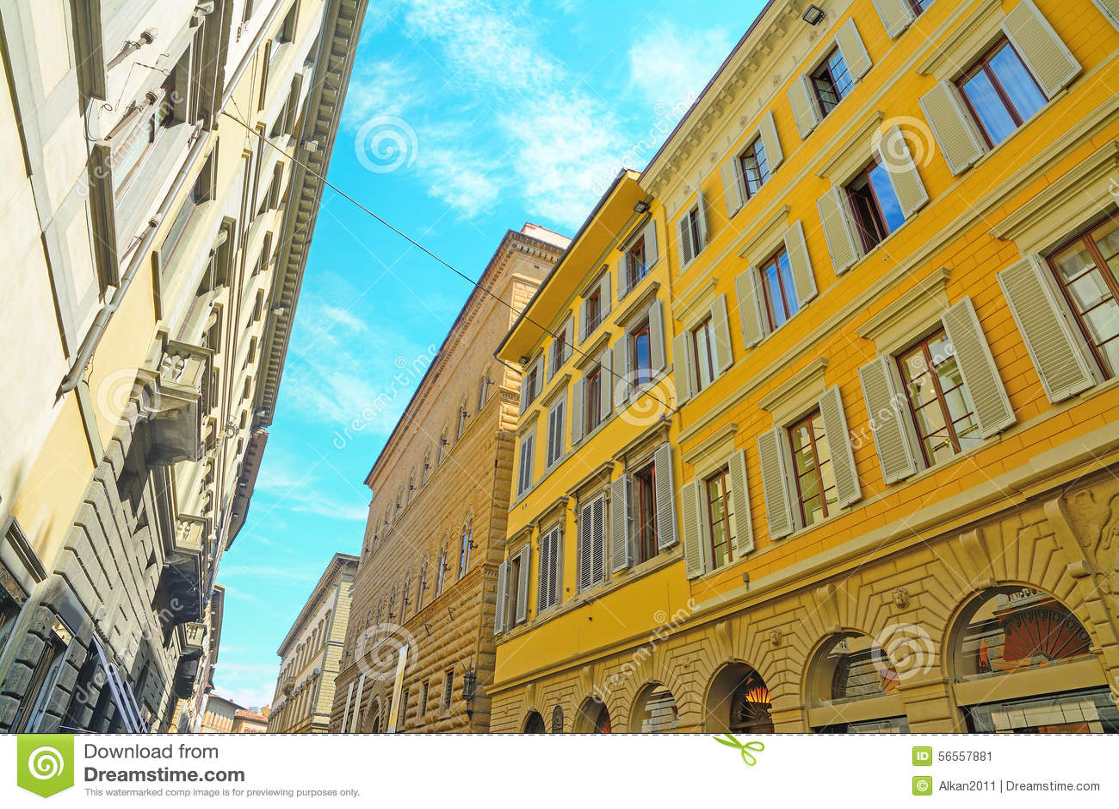 Download Ιστορικά κτήρια στη Φλωρεντία Στοκ Εικόνα - εικόνα από τοσκάνη, προορισμός: 56557881