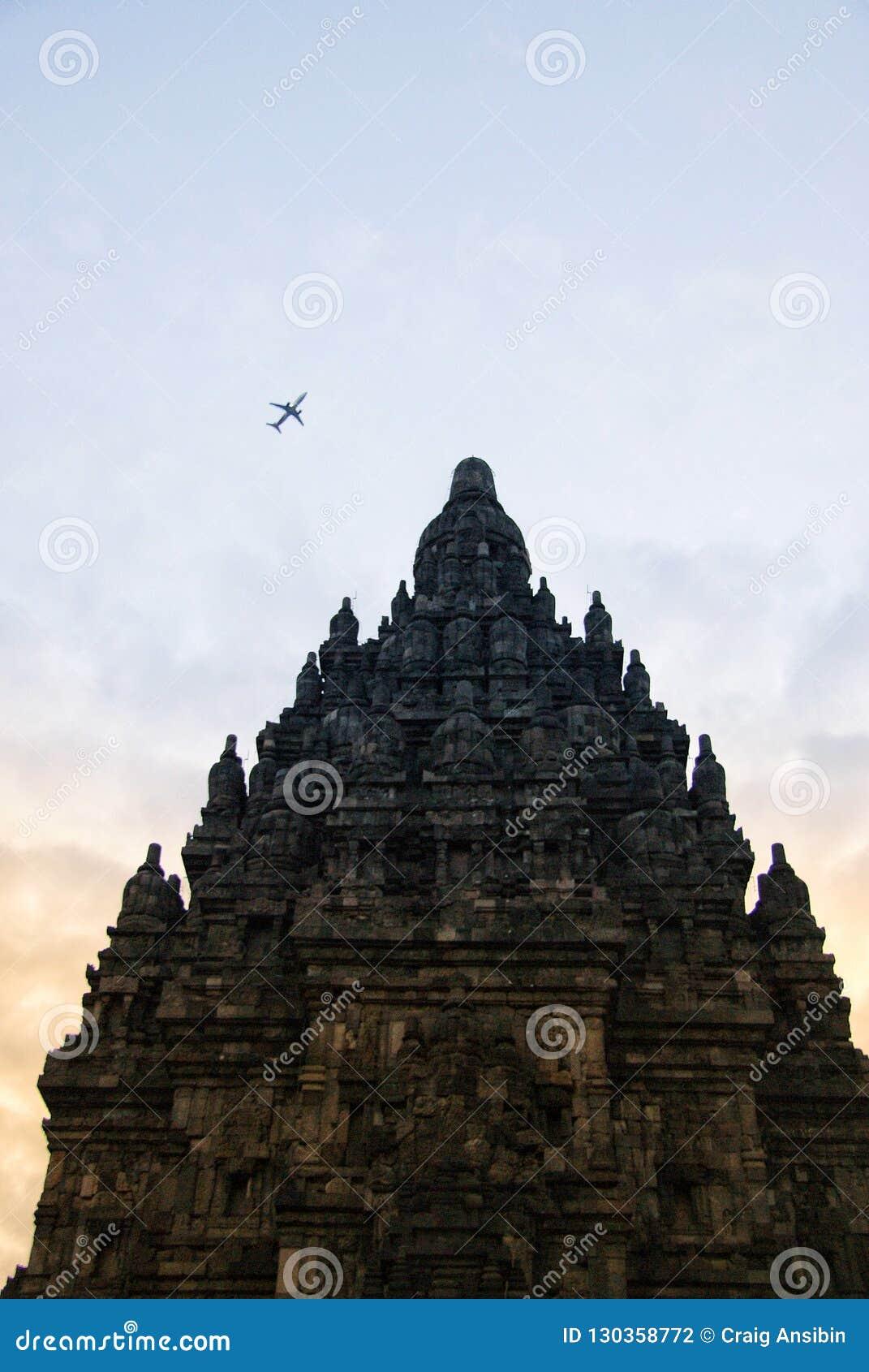 Ιστορικός σύνθετος Prambanan σε Yogyakarta, Ινδονησία