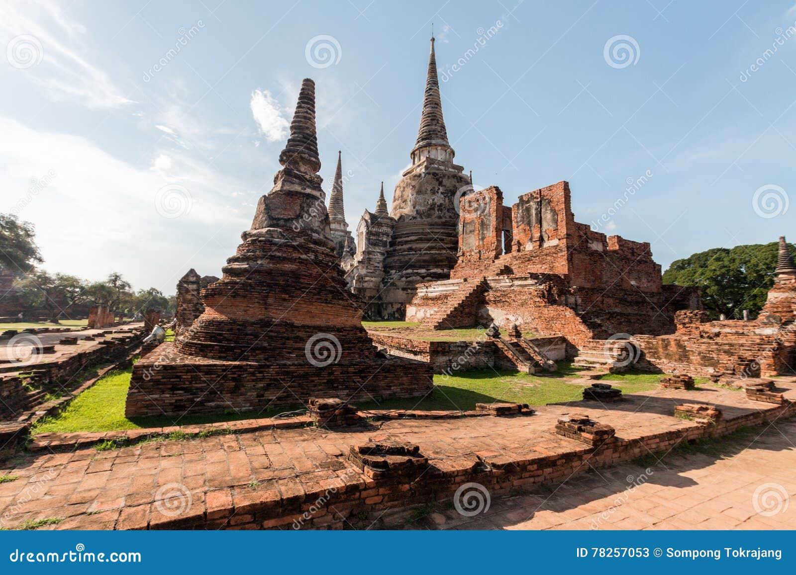 ιστορικό πάρκο ayutthaya