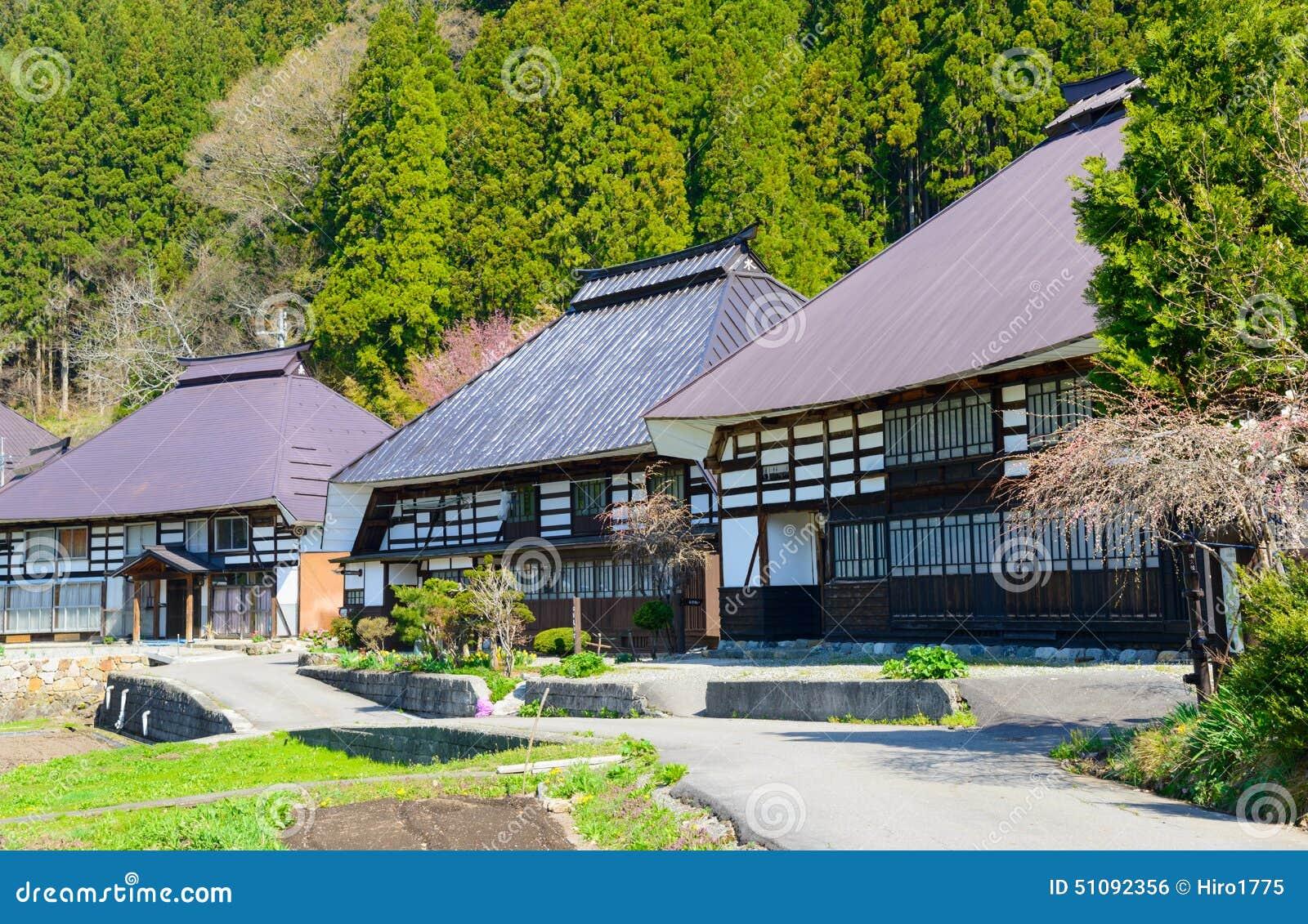 Ιστορικό χωριό σε Hakuba, Ναγκάνο, Ιαπωνία