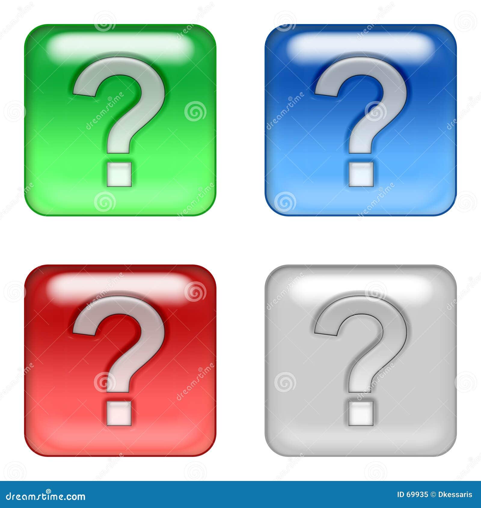 Ιστός ερώτησης κουμπιών