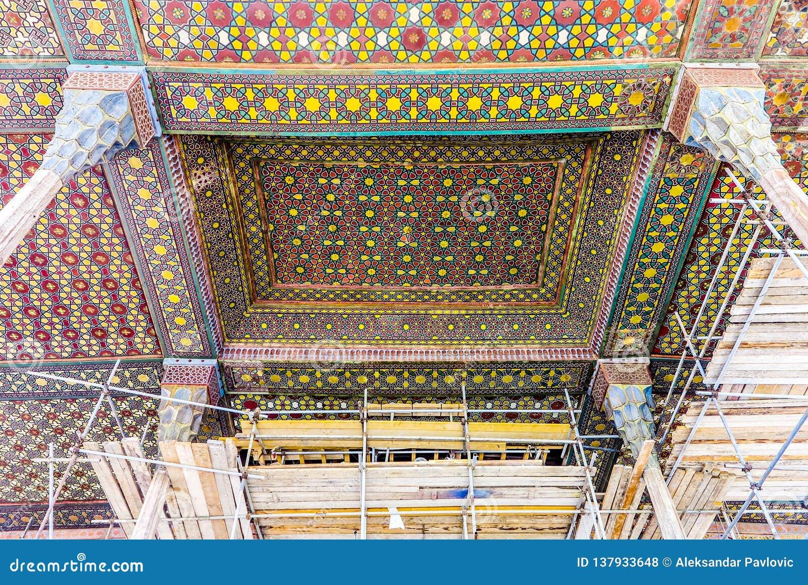 Ισφαχάν Ali Qapu Royal Palace 04