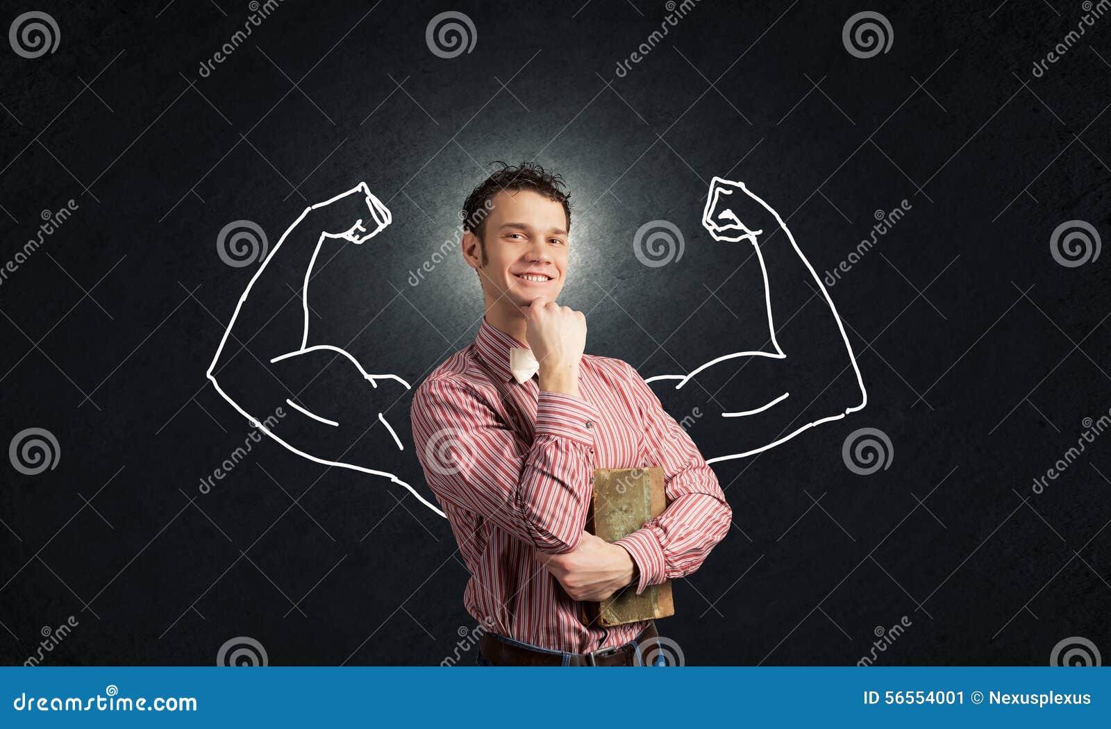 Download Ισχυρός και ισχυρός στοκ εικόνα. εικόνα από γυμναστική - 56554001