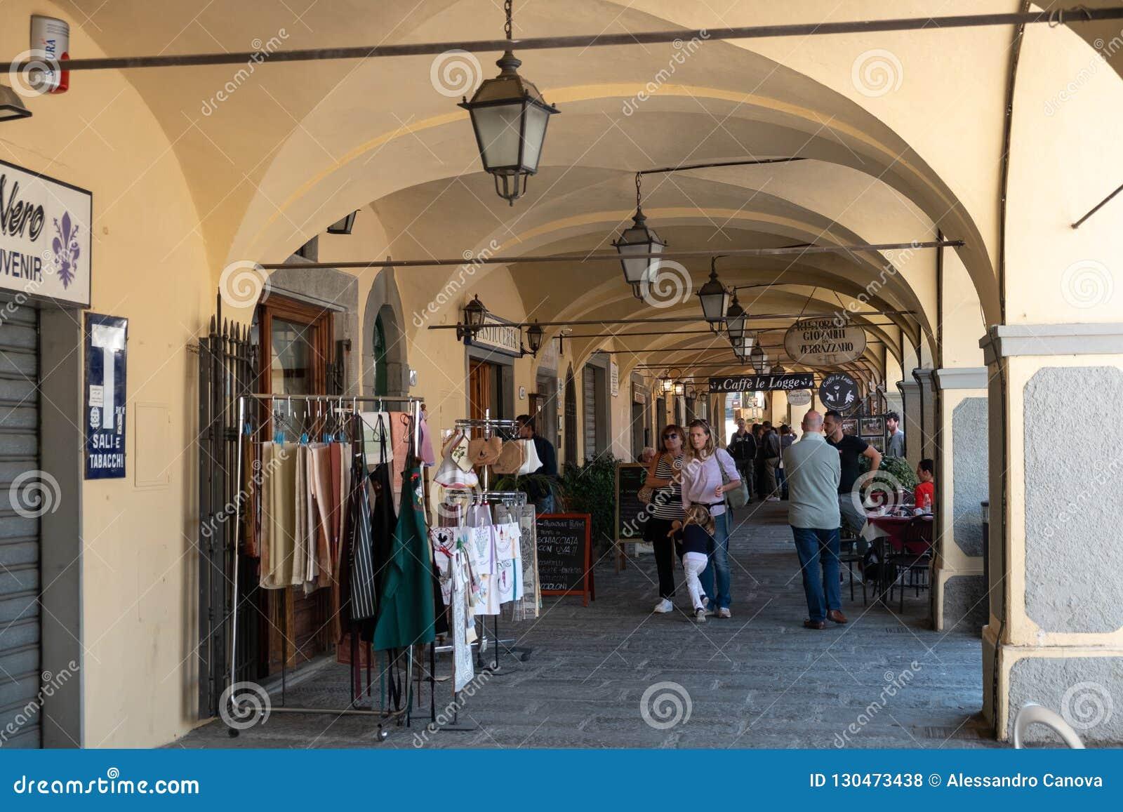Ιταλία, Τοσκάνη, η επαρχία της Φλωρεντίας, Greve σε Chianti