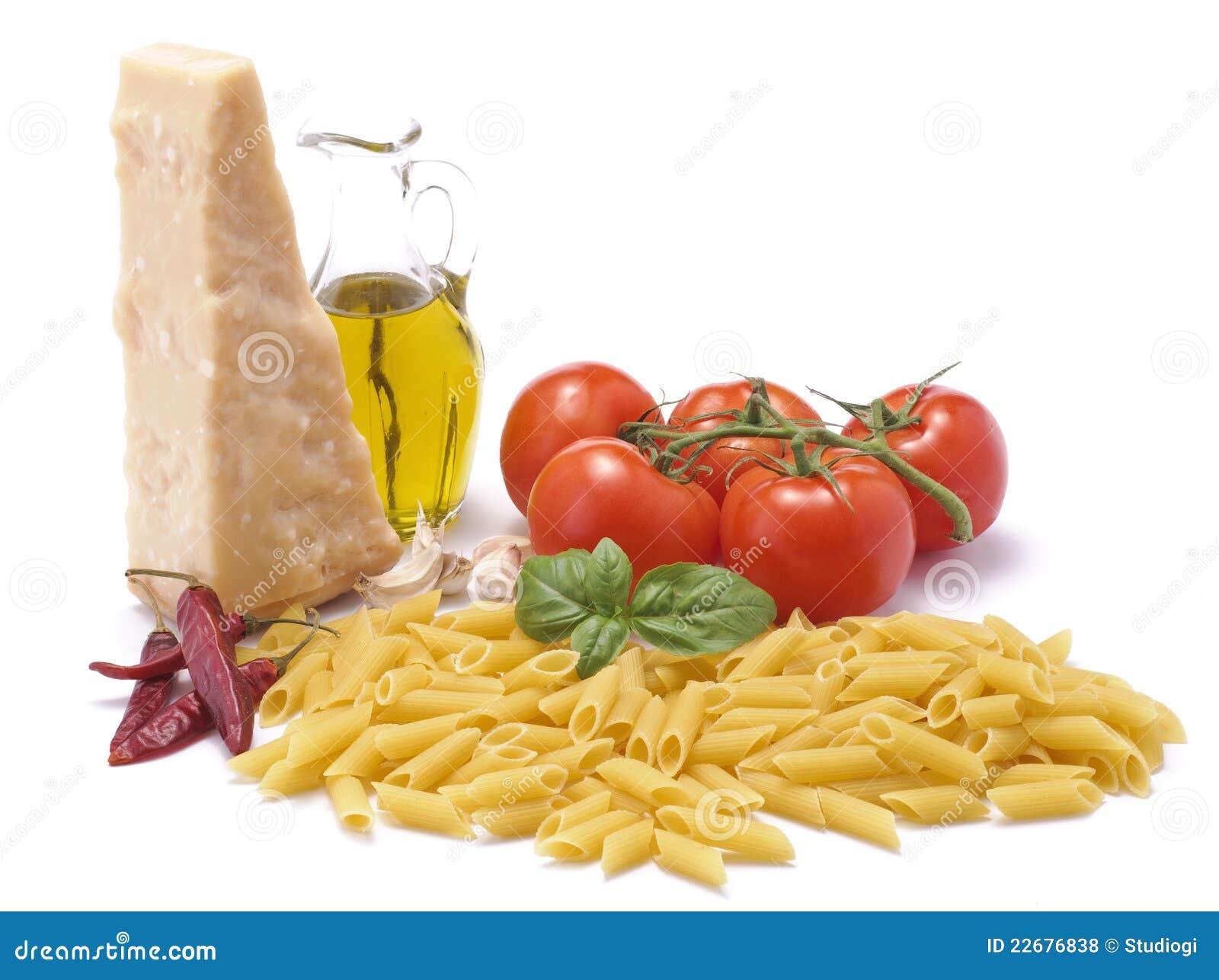 ιταλικά προϊόντα τροφίμων καλλιέργειας παραδοσιακά