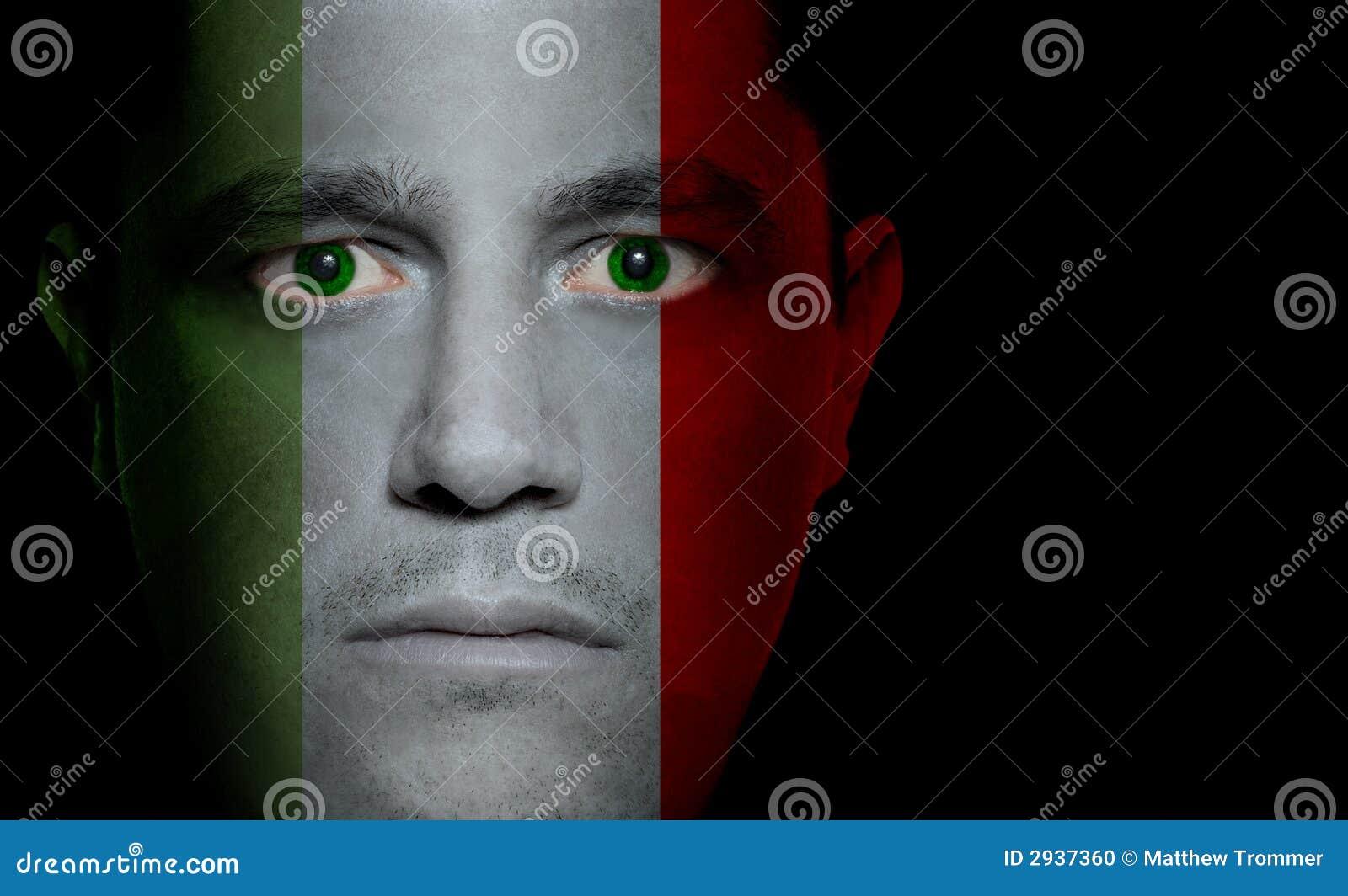 ιταλικό αρσενικό σημαιών π&rh